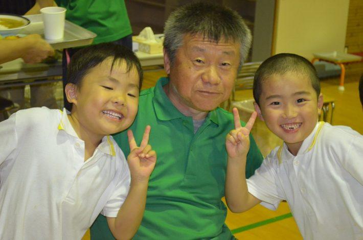 お泊り保育(年長組) 7月25日(月)~7月26日(火)