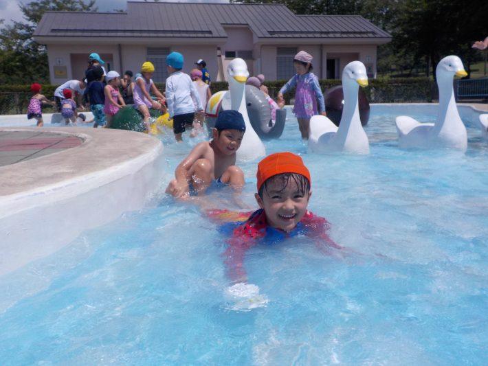 水あそび♬~吉野公園~(年長)