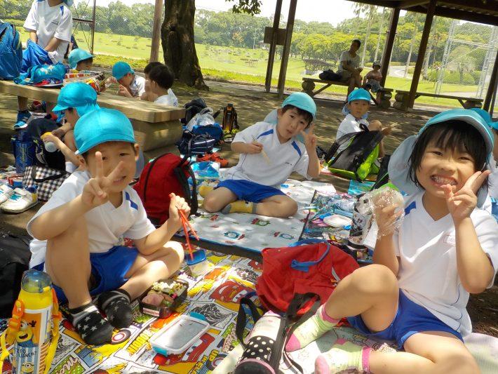 吉野公園に出かけたよ!(年長組)